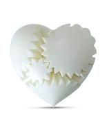 LeLuv GLOSSY Heart Gear 3D Printed Brain Teaser Toy Mechanical Gift, Lar... - $29.99