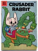 Crusader Rabbit 805 VG 4.0 Dell Four Color 1957 - $27.72