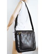 Black Faux Leather Purse Cross Body Shoulder Bag Relic - $26.99