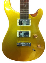 Fishbone Guitar 6 string Vine style electric solid body Gold - $219.95