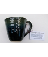 Coffee Mug by Healing Touch Pottery, Tiger's Eye Stone, New w/Tags - $18.95