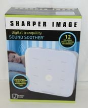 Sharper Image 1520023 Digital Tranquility Sound Soother 12 Relaxing Recordings image 8