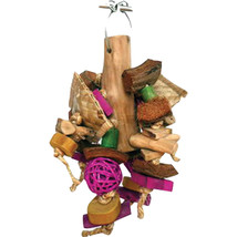 A&e Cage Assorted Java Wood Chunky Monster Bird Toy 8x12 In 644472019131 - £26.18 GBP