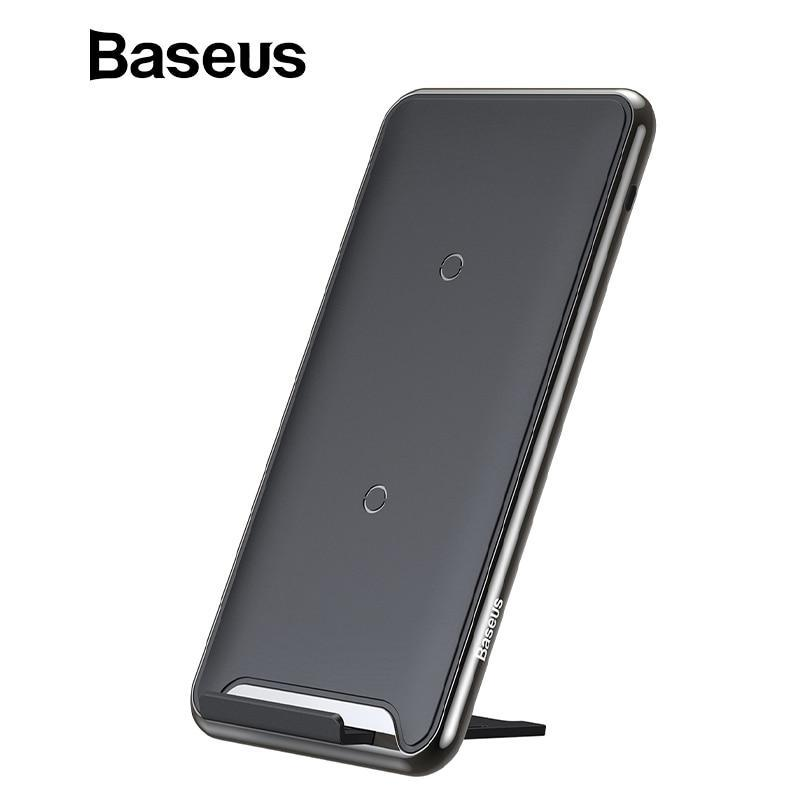 Baseus 10W 3 Coils Wireless Charger For iPhone X/XS Max XR Samsung S9 Note9 Xiao