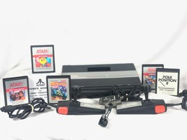 Atari 7800 ProSystem Console System With Pole Position 2 Joysticks 1987 - $197.99