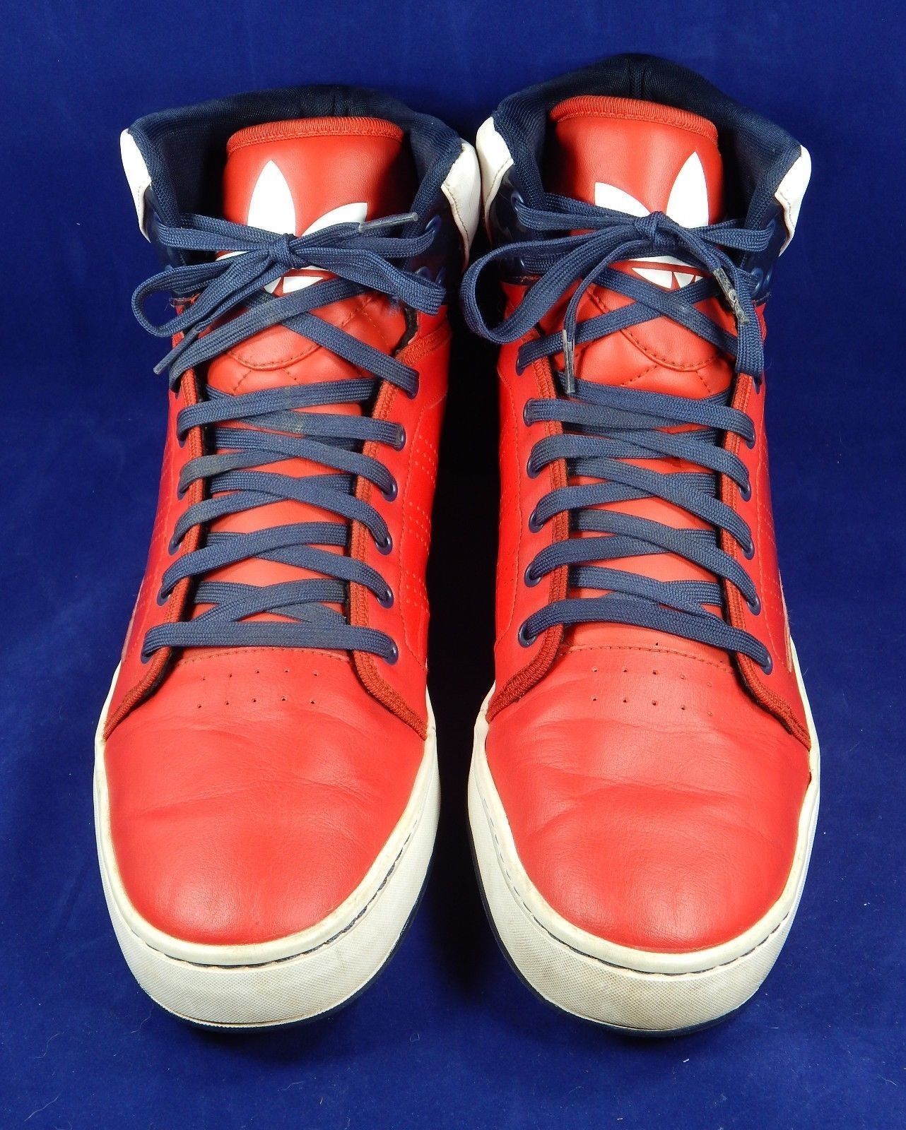 outlet store 38a57 493c3 Adidas G56624 Originals ADI High EXT Basketball Shoes Red White Blue Size  US 13