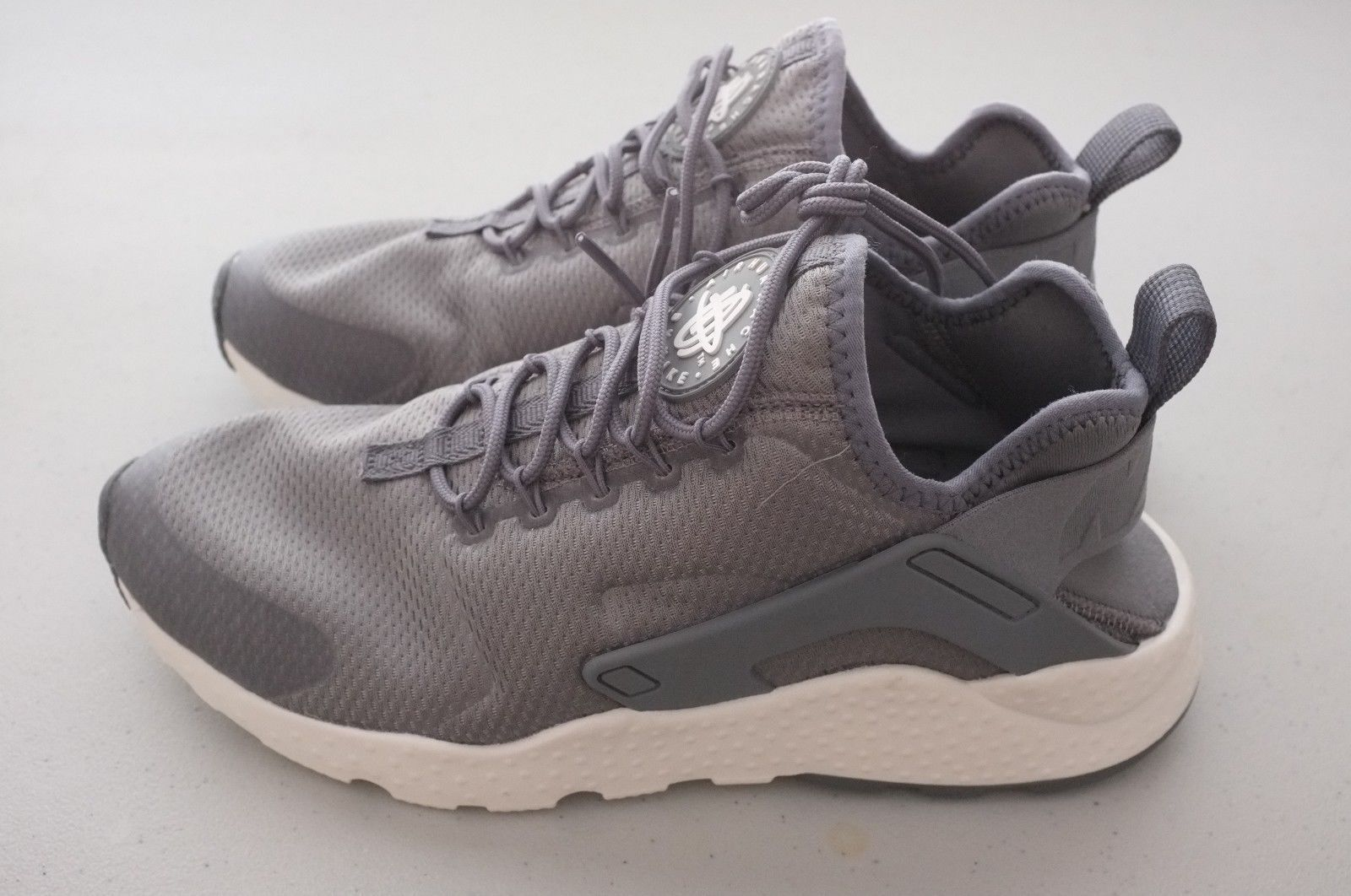 promo code 7606a b65d0 Nike Womens Air Huarache Run low Ultra Shoes Cool Gray White Sz 7.5  (819151-006)