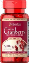 Puritan's Pride One A Day Cranberry Capsules, 120Count - $19.79