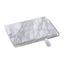 Swiss Cheese Slicer,Marble Danish Cheese Slicer with Wire,Marble Gray - $22.99