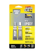 The Original SuperGlue 15359 Single-Use Epoxy Tubes for Metal - $20.02