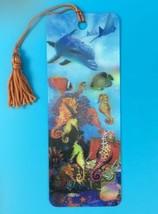 Gift Trenz Seahorse Kingdom 3D Tassel Bookmark Steve Sundram Stocking St... - $2.99