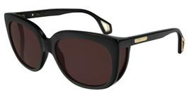 Gucci GG0468S-001 Black Acetate Frame Brown Lens 57mm Sunglasses - $226.87