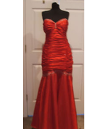 nwt $289 jump apparel ruched beaded prom pagean stage formal occasion go... - $110.63