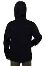 Gerry Youth Kid's Black Full Zip Ribbed Hooded Jacket XS 5-6 image 2