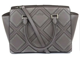 Michael Kors $498 BNWT Diamond Grommet Selma MD Leather Satchel 30F6ADXS2L - $203.31