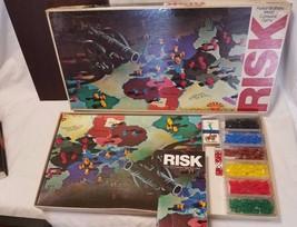 Vintage 1980 RISK World Conquest Board Game Parker Brothers No. 44 1975 ... - $9.85