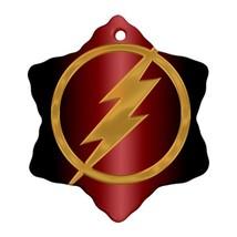 The Flash Procelain Ornaments (Snowflake) Christmas - $6.99
