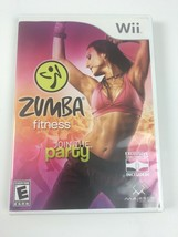 Nintendo Wii Zumba Fitness Join the Party Dance 2010 - $5.72