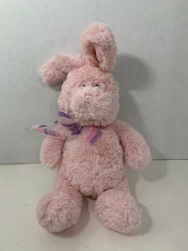 Primary image for Gund plush pink Easter bunny rabbit Color My World Bopler pastel 36387 beanie