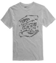 NEW MENS LEVIS LEVI STRAUSS GREY COTTON GRAPHIC PRINT T SHIRT TEE XL - $14.84