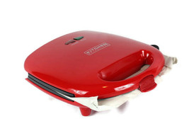 Kitchen Selectives Red 3 In 1 Grill Sandwich Waffle Snack Maker Model SW... - $27.71