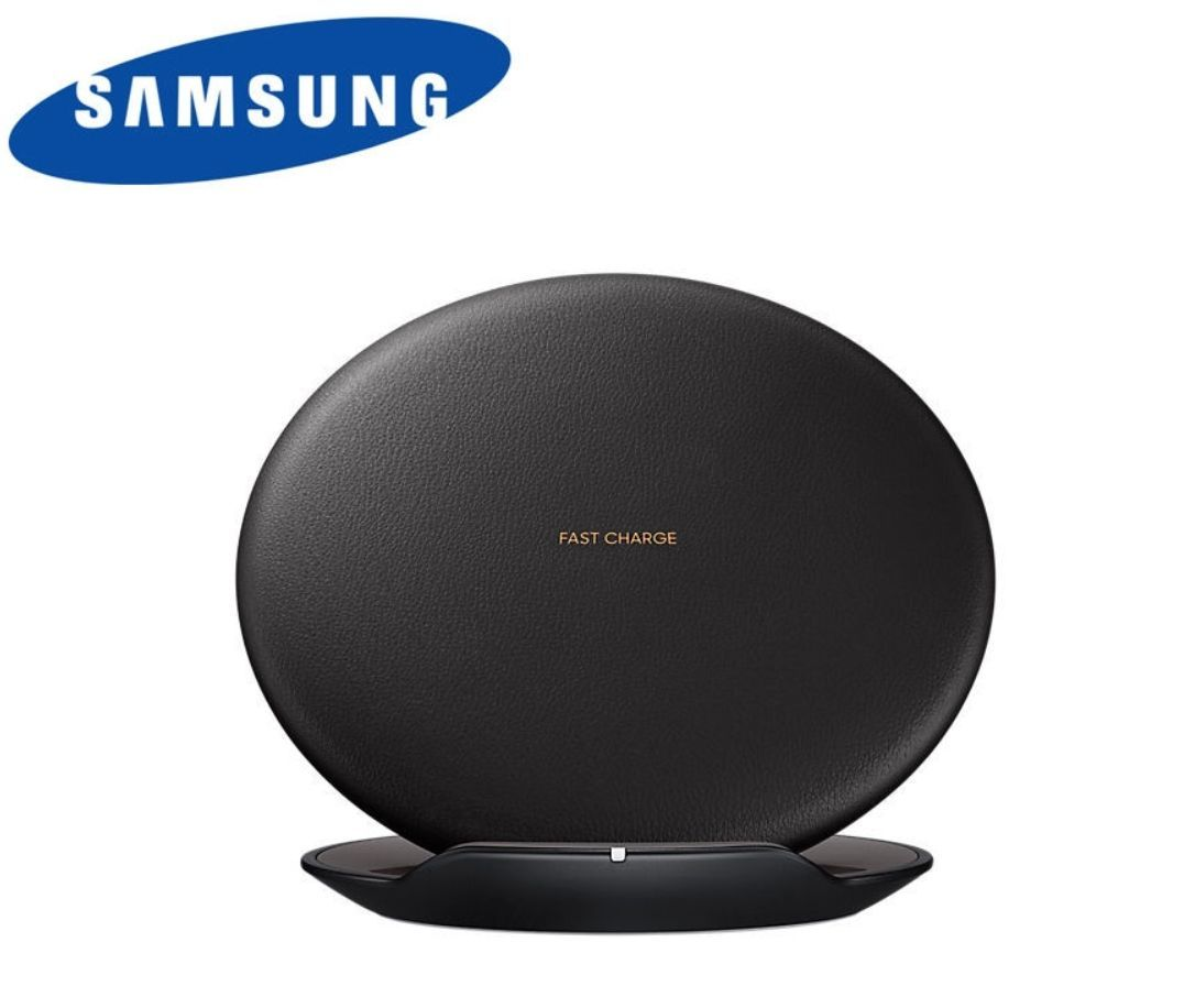 New Samsung Fast Charge Wireless Charger Convertible For Galaxy S8 Black