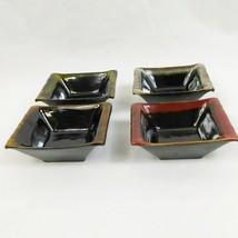 Set of 4 La Dolce Vita by JJG Design Bowl Collection Rectangle Mini Bowls - $14.81