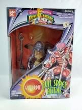 Power Rangers Evil Space Alien Guitardo Action figure Bandai 1994 Sealed Box - $32.71