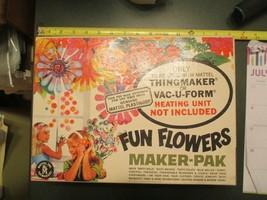 1966 Mattel Thingmaker Vac U Form FUN FLOWERS Maker Pak Toy Toys Molds - $39.99