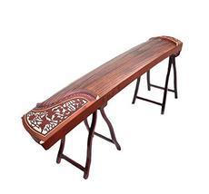 African rosewood crane design dunhuang guzheng - $592.00