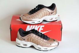 New In Box Nike Womens Air Max Tailwind Iv Sneaker 7.5 Metallic Bronze Oil Grey - $164.40