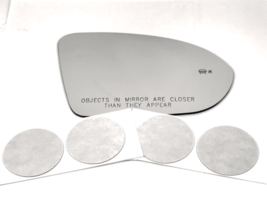 Fits 16-19 Cruze,18-19 Regal Right Pass Mirror Glass Lens w/BlindSpot Icon* - $34.60