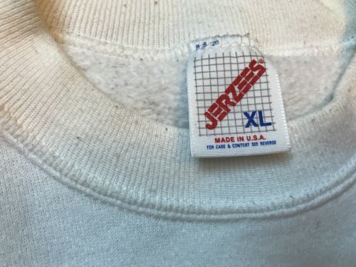 vintage ugly santa christmas sweatshirt jerzees XL