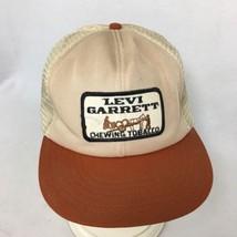 Levi Garrett Trucker Hat Mesh Mens Snapback Patch MADE USA Cap Chewing T... - $57.37