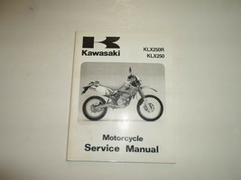 1993 1996 Kawasaki KLX250R KLX250 Service Repair Shop Manual FACTORY OEM... - $44.54