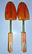 NEW MENS WAREHOUSE ROCHESTER SHOE TREES USA Solid Cedar  Adjustable M 9 ... - $16.99