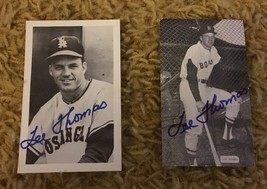 2 Vintage Lee Thomas Autograph Signed Postcards MLB Baseball - $12.86