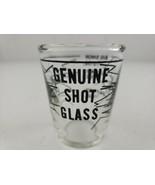 """Genuine Shot Glass Barware Measurements Half, Full & Big Shot. """"Bullet S... - $7.00"""