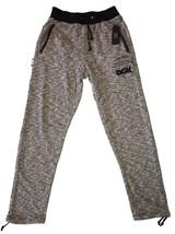 DGK Black/White Heather Concrete Street Fleece Sweatpants Jogging Pants
