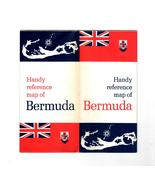 Map Of Bermuda (Vintage 1969) - $1.95