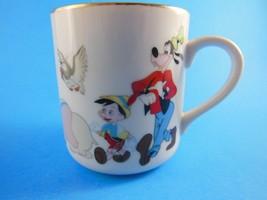 Vintage Disney Mug Cup Mickey Mouse Parade with Goofey Donald  Pluto Dum... - $10.88