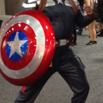 Captain America cosplay costume from Captain America: The Winter Soldier - $780.00
