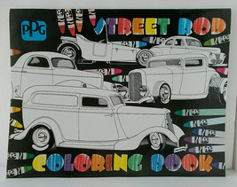 PPG ADULT COLORING BOOK 32 Pages Of Street Rod Cars During 1920s 1930s 1... - $9.89