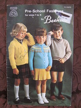 Vintage Patons Knitting Patterns Sweaters Leggings Cap Mitts CHILDREN 1 - 6 - $3.95