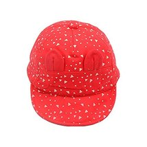 Baby Hat Sunscreen Breathable Baby Cuff Cotton Baseball Cap Visor Cap image 2