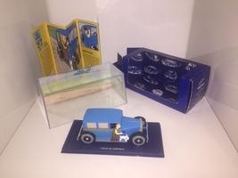 Taxi Checker model car - Tintin in America TIntin cars Atlas 1/43