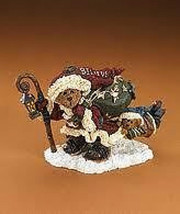 "Boyds Bearstone ""Northwind Nick w/Tag-A-Long..Christmas"" #228504PAW-LE-NIB- 2007 - $29.99"