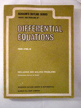 Differential equations schaums outline frank ayres jr 01 thumb200