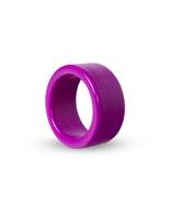 "LeLuv 1.25"" Napkin Ring 6 Pack 3D Print Kitchen Holder Smooth Polish, Pi... - $29.99"