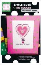 Little Guys: The Hugger cross stitch chart Amy Bruecken Designs - $5.40